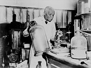 George Washington Carver Prints - George Washington Carver 1864-1943 An Print by Everett