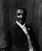 1900s Framed Prints - George Washington Carver 1864-1943 Framed Print by Everett