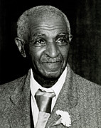 Born Into Slavery Art - George Washington Carver by Photo Researchers