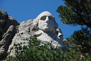 South Dakota Tourism Posters - George Washington face  Poster by Dany Lison