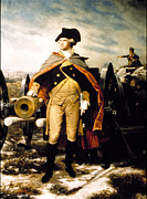Boots Posters - George Washington, General Of American Poster by Everett