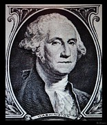 Patriots Digital Art Posters - George Washington Poster by Rob Hans