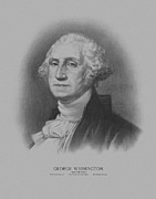 Founding Father Prints - George Washington Print by War Is Hell Store