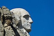 Rapid City Metal Prints - George Washinton Mt Rushmore Metal Print by Jon Berghoff