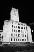 Tunnels Prints - Georges dock ventilation and control station building for the mersey tunnel pier head liverpool  Print by Joe Fox
