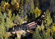 Idaho Photos - Georgetown Loop Railroad by Adam Pender