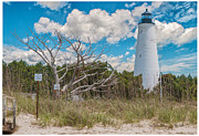 Mike Covington Art - Georgetown SC Lighthouse by Mike Covington