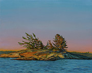 Liz Zahara - Georgian Bay Island 1