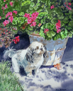 Artist Watercolor Prints - Georgie Print by Irina Sztukowski