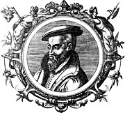Georgius Agricola, German Scholar Print by Science Source