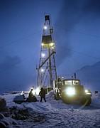 Geothermal Power Station Drilling Print by Ria Novosti