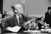 Resignation Prints - Gerald Ford Told The House Judiciary Print by Everett