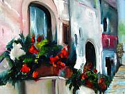 Jeff Hunter - Geraniums Outside