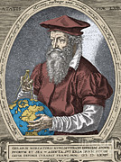 Cartographer Framed Prints - Gerardus Mercator, Flemish Cartographer Framed Print by Science Source