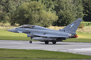 Hradec Prints - German Eurofighter Trainer Taking Print by Timm Ziegenthaler