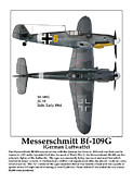 World War Two Photo Posters - German Fighter Poster by Jerry Taliaferro