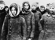 Uniforms Metal Prints - German Prisoners, Among The 90,000 Metal Print by Everett