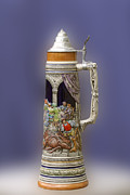 David German Art - German Steins by David Lester