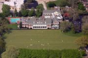 Aerial Photo - Germantown Cricket Club 3 by Duncan Pearson