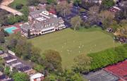 Photo Flight Prints - Germantown Cricket Club Cricket Festival Print by Duncan Pearson