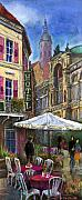 Old Pastels Metal Prints - Germany Baden-Baden 07 Metal Print by Yuriy  Shevchuk