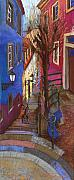 Old Pastels Prints - Germany Baden-Baden 08 Print by Yuriy  Shevchuk