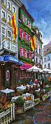 Old Pastels Prints - Germany Baden-Baden 10 Print by Yuriy  Shevchuk