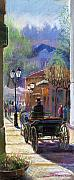 Germany Pastels - Germany Baden-Baden Spring  Ray by Yuriy  Shevchuk