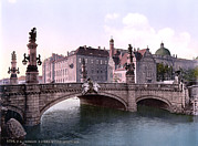 Photochrom Photos - Germany, Emperor Williams Bridge by Everett
