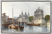 Boatman Framed Prints - Germany: Hamburg Framed Print by Granger