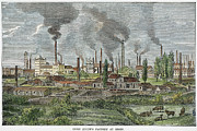 Essen Framed Prints - Germany: Krupp Works Framed Print by Granger