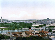 Photochrom Photos - Germany, Potsdam, Berlin, Photochrom by Everett
