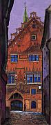 Old Pastels Metal Prints - Germany Ulm Metal Print by Yuriy  Shevchuk