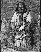 Chief Drawings Originals - Geronimo by Robert Clement