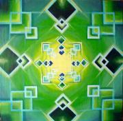 Gestalt Print by Morgan  Mandala Manley