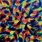Abstract And Or Expressionistic Work - Gestural Gestalt Gone Gonzo by Charles Peck