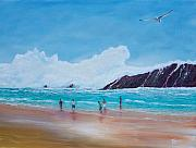 Puerto Rico Painting Originals - Get Off The Beach by Tony Rodriguez