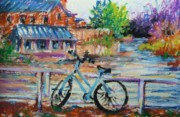 Cambridge Pastels - Getting around by K M Pawelec