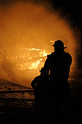 Fireman Photos - Getting the Job Done by Benanne Stiens
