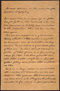 Gettysburg Prints - Gettysburg Address Print by Granger
