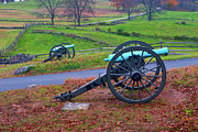 Civil War Cannon Prints - Gettysburg Battlefield and its guns Print by Paul W Faust -  Impressions of Light