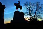 Yanks Prints - Gettysburg Blues Print by Mike Flynn