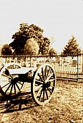 Gettysburg Cannon Print by Utopia Concepts