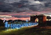Gettysburg Evergreen Print by Tom Straub
