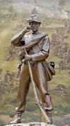 Confederate Monument Prints - Gettysburg Print by Randy Steele