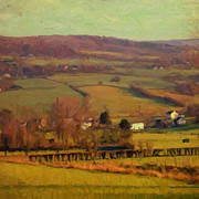 Limburg Paintings - Geuldal by Nop Briex