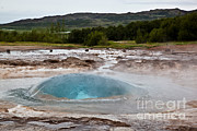 Featured Art - Geysir Eruption Sequence by Greg Dimijian