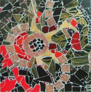 Mosaic Mixed Media - Ghetsimani by Cristina-Mary Buzamet