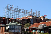 Ghirardelli Framed Prints - Ghirardelli Chocolate Factory San Francisco California . 7D13978 Framed Print by Wingsdomain Art and Photography