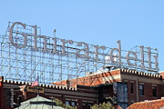 Brick Buildings Metal Prints - Ghirardelli Chocolate Factory San Francisco California . 7D13979 Metal Print by Wingsdomain Art and Photography